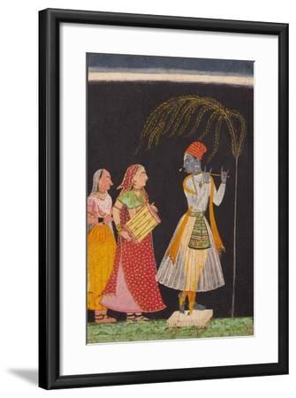 Lahula Ragaputra, Son of Dipak Raga--Framed Art Print