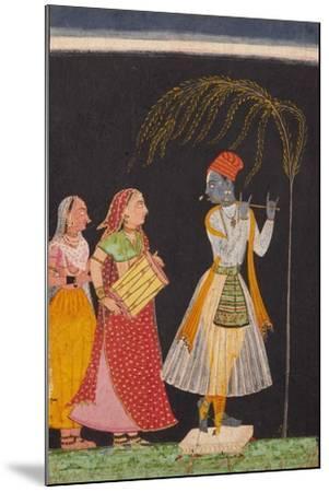 Lahula Ragaputra, Son of Dipak Raga--Mounted Art Print