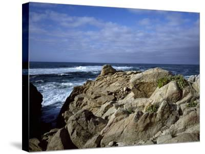 Pacific Ocean View from the California Coast-Carol Highsmith-Stretched Canvas Print