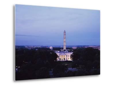 White House Presidential Mansion-Carol Highsmith-Metal Print