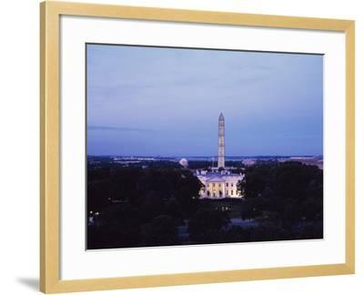 White House Presidential Mansion-Carol Highsmith-Framed Photo