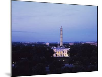 White House Presidential Mansion-Carol Highsmith-Mounted Photo