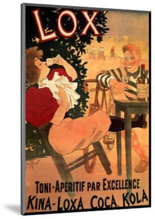 Lox-Georges Munier-Mounted Art Print