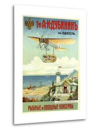 Ask Dubinin in Odessa--Metal Print