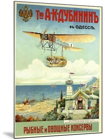 Ask Dubinin in Odessa--Mounted Art Print