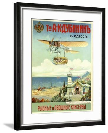 Ask Dubinin in Odessa--Framed Art Print