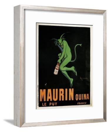 Maurin Quina-Leonetto Cappiello-Framed Premium Giclee Print