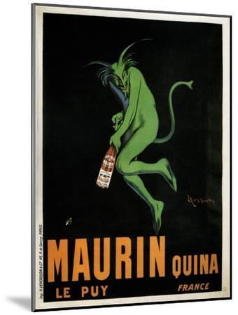 Maurin Quina-Leonetto Cappiello-Mounted Premium Giclee Print