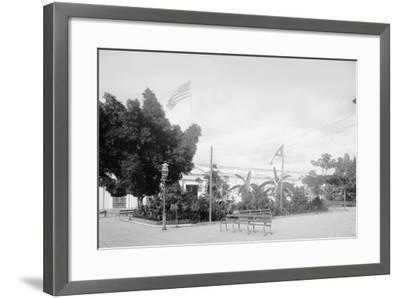 Government Building, Santiago De Cuba--Framed Photo