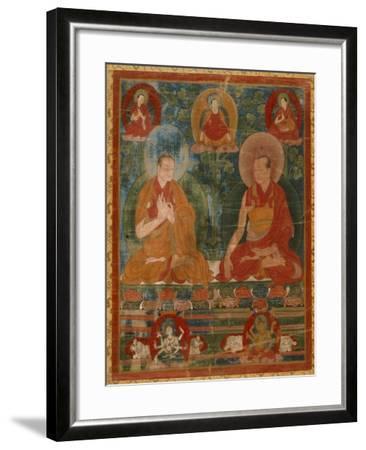 Sakyasri and the Lostsawa of Trophu--Framed Art Print