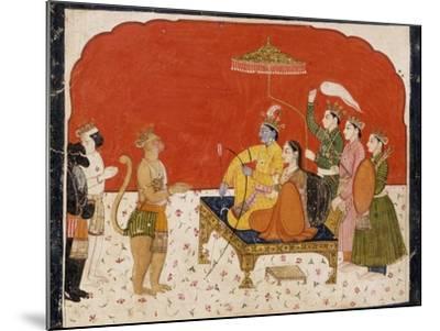 Rama's Court--Mounted Art Print