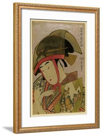 Suzume of Yoshiwara-Kitagawa Utamaro-Framed Art Print
