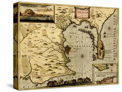 Nice on the Mediterranean - 1700-Anna Beeck-Stretched Canvas Print