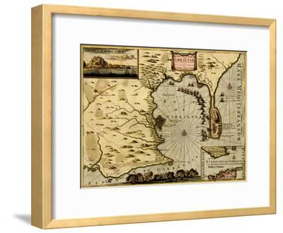 Nice on the Mediterranean - 1700-Anna Beeck-Framed Art Print