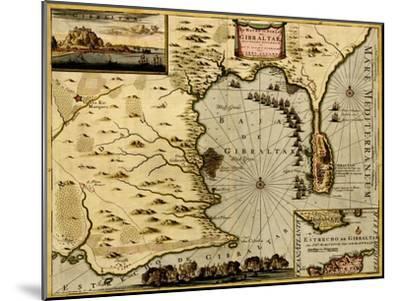 Nice on the Mediterranean - 1700-Anna Beeck-Mounted Art Print