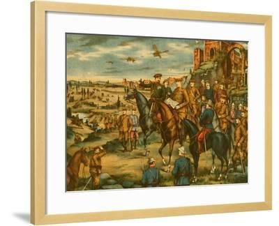 Forming Combined Headquarters in Siberia--Framed Art Print