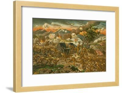 Battle of Ussuri--Framed Art Print