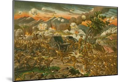 Battle of Ussuri--Mounted Art Print