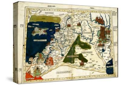 Israel, Palestine-Ptolemy-Stretched Canvas Print