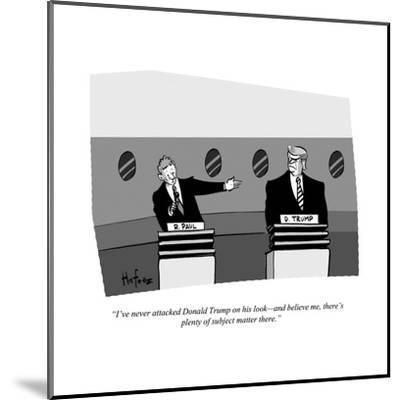 Cartoon-Kaamran Hafeez-Mounted Premium Giclee Print