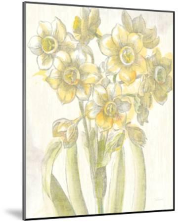 Belle Fleur Yellow IV Crop-Sue Schlabach-Mounted Premium Giclee Print