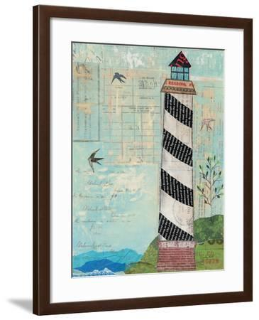 Coastal Lighthouse II-Courtney Prahl-Framed Art Print