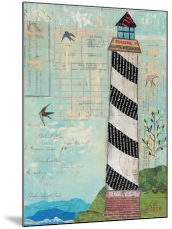 Coastal Lighthouse II-Courtney Prahl-Mounted Art Print