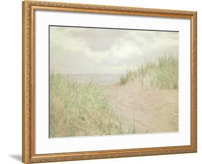 Beach Grass III-Elizabeth Urquhart-Framed Art Print