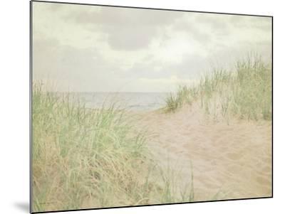 Beach Grass III-Elizabeth Urquhart-Mounted Art Print