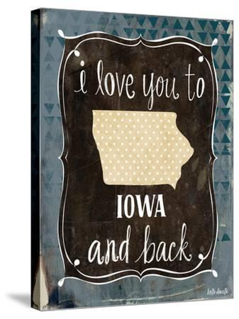 Iowa and Back-Katie Doucette-Stretched Canvas Print