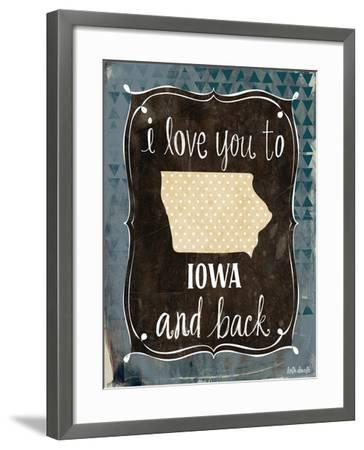 Iowa and Back-Katie Doucette-Framed Art Print