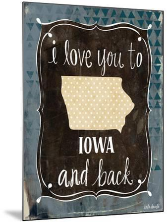 Iowa and Back-Katie Doucette-Mounted Art Print