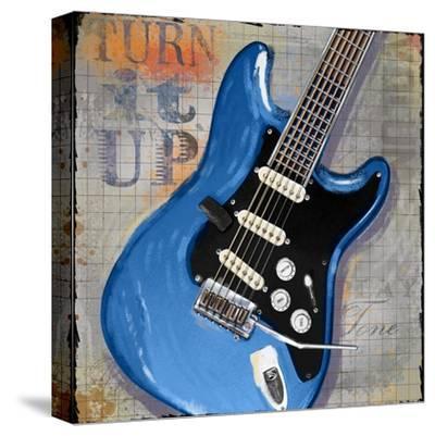 Turn it Up-Jim Baldwin-Stretched Canvas Print