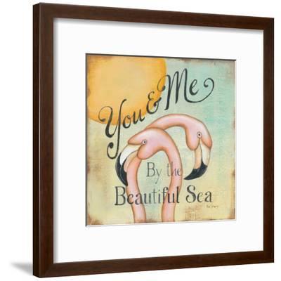 You and Me-Kim Lewis-Framed Art Print