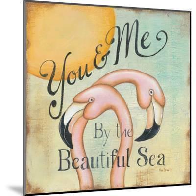 You and Me-Kim Lewis-Mounted Art Print