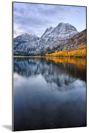 Silver Lake in Reflection in Autumn, Eastern Sierras, California-Vincent James-Mounted Photographic Print
