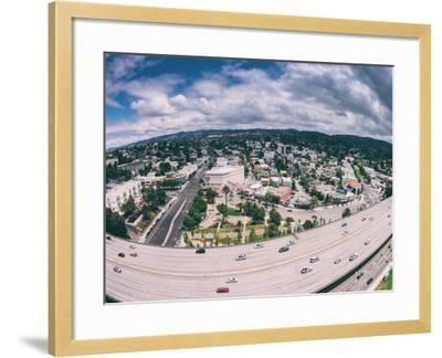 Afternoon View Towards Grand Lake and Oakland Hills, California-Vincent James-Framed Photographic Print