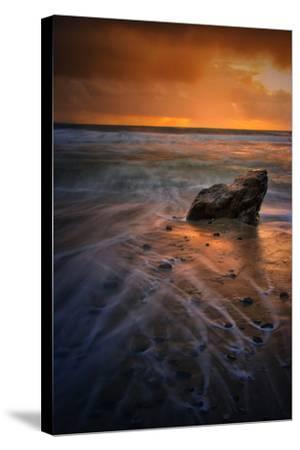 Stormy Seascape at Pfeiffer Beach, Big Sur, California Coast-Vincent James-Stretched Canvas Print