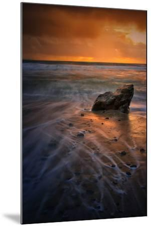 Stormy Seascape at Pfeiffer Beach, Big Sur, California Coast-Vincent James-Mounted Photographic Print
