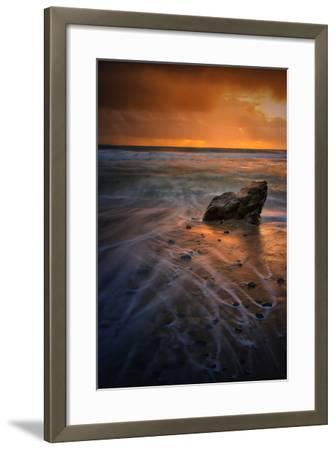 Stormy Seascape at Pfeiffer Beach, Big Sur, California Coast-Vincent James-Framed Photographic Print