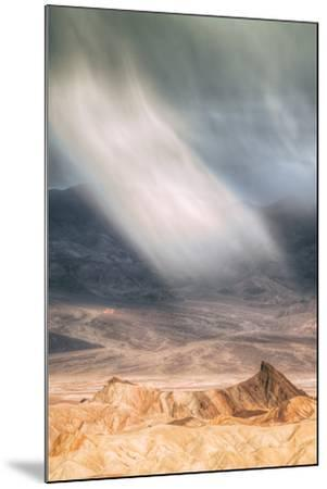 Sand Storm Design at Zabriskie Point Death Valley-Vincent James-Mounted Photographic Print