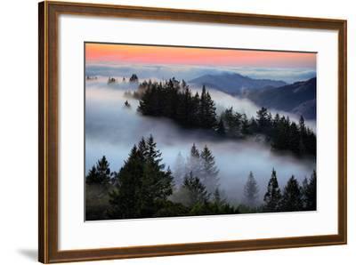 In A Dream of Fog Mount Tamalpais San Francisco-Vincent James-Framed Photographic Print