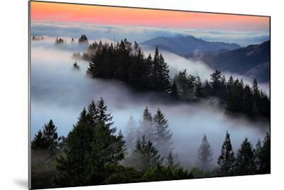 In A Dream of Fog Mount Tamalpais San Francisco-Vincent James-Mounted Photographic Print