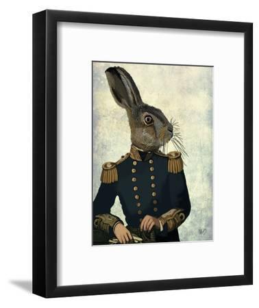 Lieutenant Hare-Fab Funky-Framed Premium Giclee Print