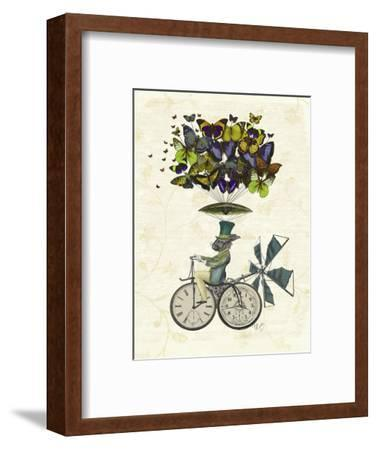 Time Flies Rabbit-Fab Funky-Framed Premium Giclee Print