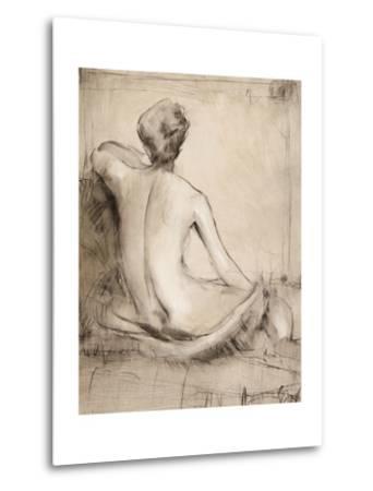 Neutral Nude Study I-Tim O'toole-Metal Print