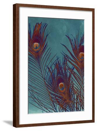 Luxe Plumes I-Jason Johnson-Framed Art Print