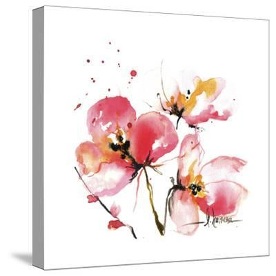 Blooms Hermanas IV-Leticia Herrera-Stretched Canvas Print