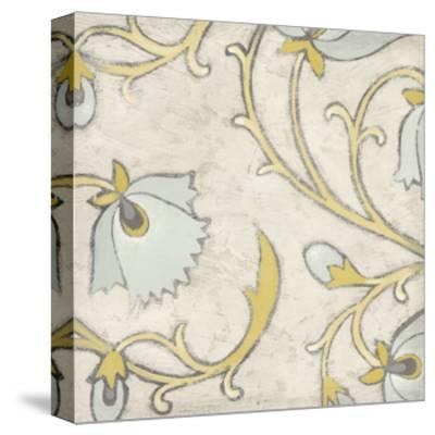 Spa Floral Fresco I-June Erica Vess-Stretched Canvas Print