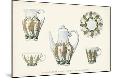 Sevres Porcelain Collection III-Vision Studio-Mounted Art Print